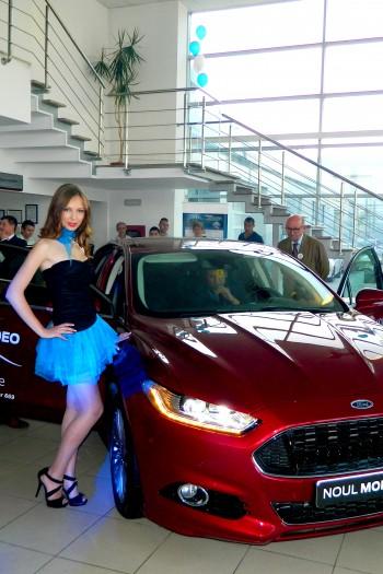 Adina C lansare Ford