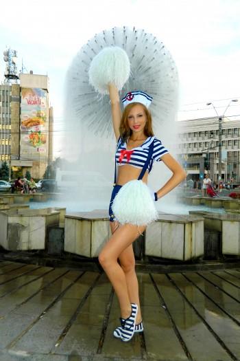 Adina C majorete festivalul fanfarelor